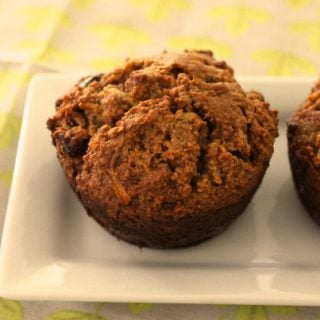 Apple Cranberry Muffins (grain free)