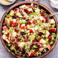 Cranberry Apple Quinoa Salad