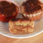 Banana Almond Stuffed Muffins (Grain Free)