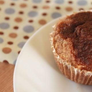 Banana Almond Stuffed Muffins (Grain and Dairy Free)