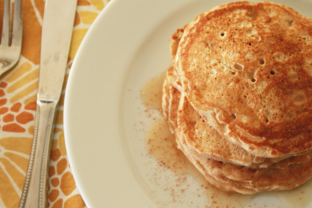 Apple cinnamon pancakes 2