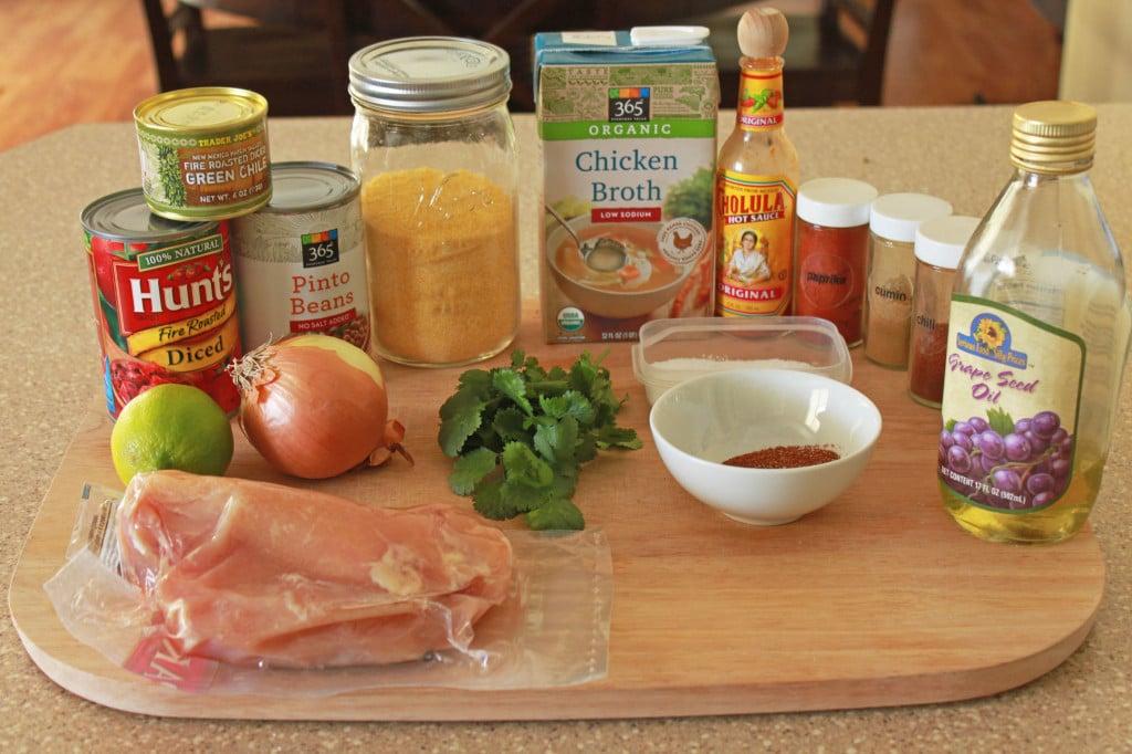 southwest chicken soup ingredients