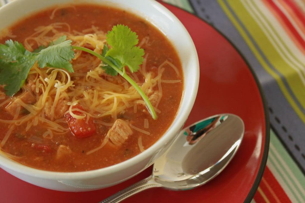 southwest chicken soup 2