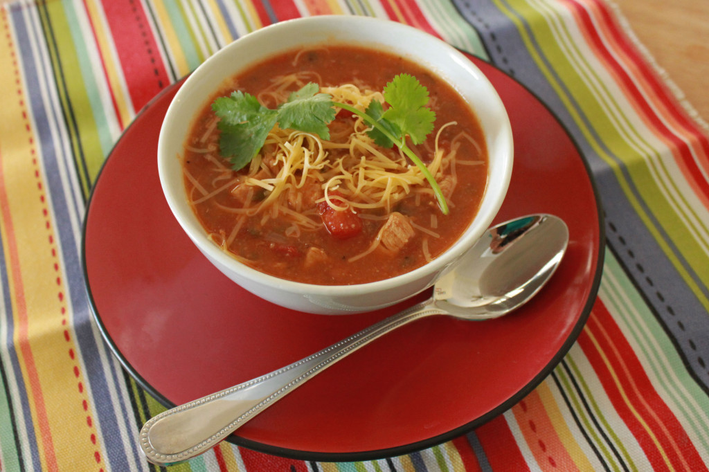 southwest chicken soup 1