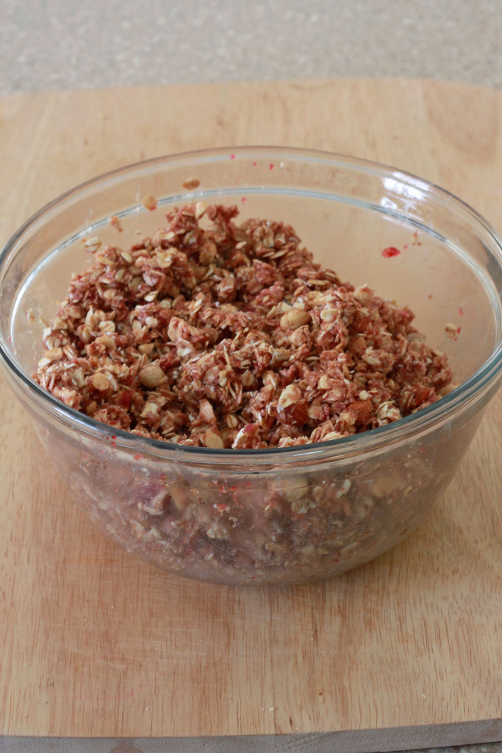 Peanut Butter and Jelly Granola Bowl 1