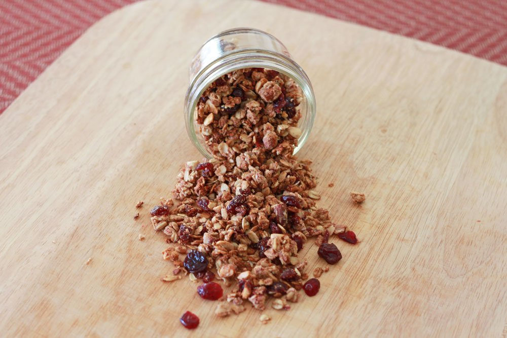 Peanut Butter and Jelly Granola 1