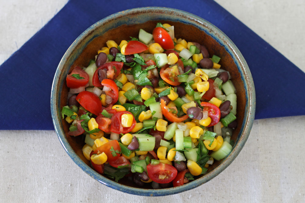 Black Bean and Corn Salsa Salad 2
