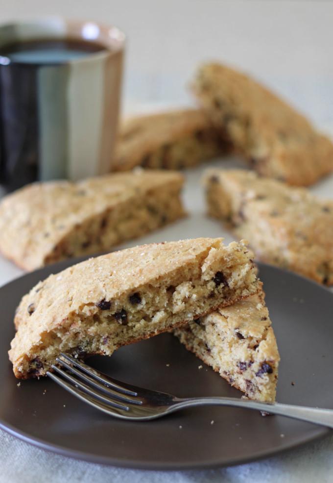 Chocolate Chip Buttermilk Scones | @reciperunner