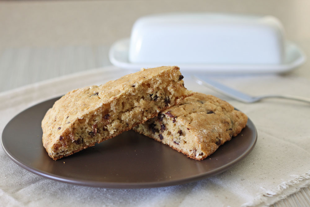 Chocolate Chip Buttermilk Scones 1