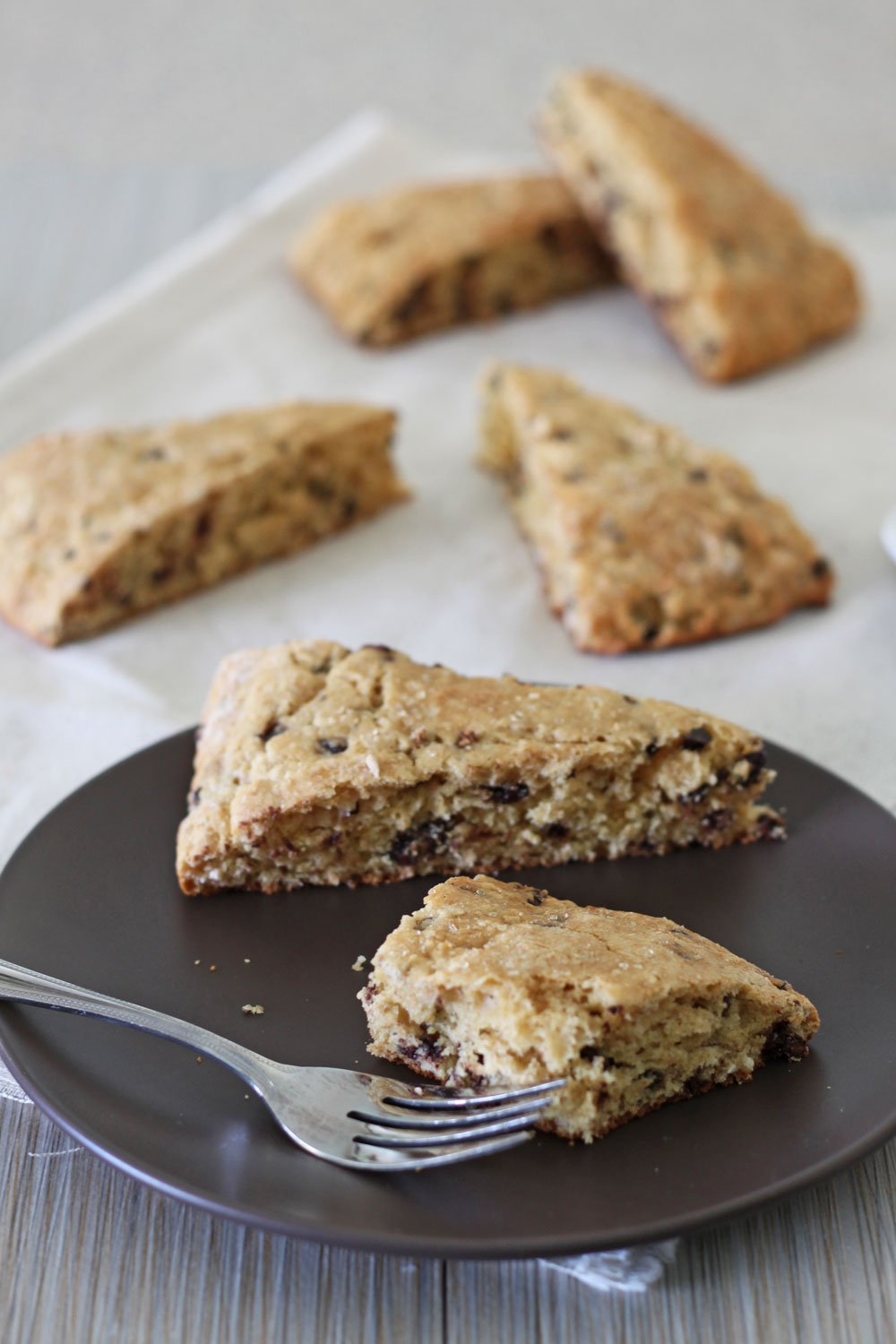 Chocolate Chip Buttermilk Scones 4