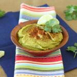 Cilantro Green Chile Lime Hummus