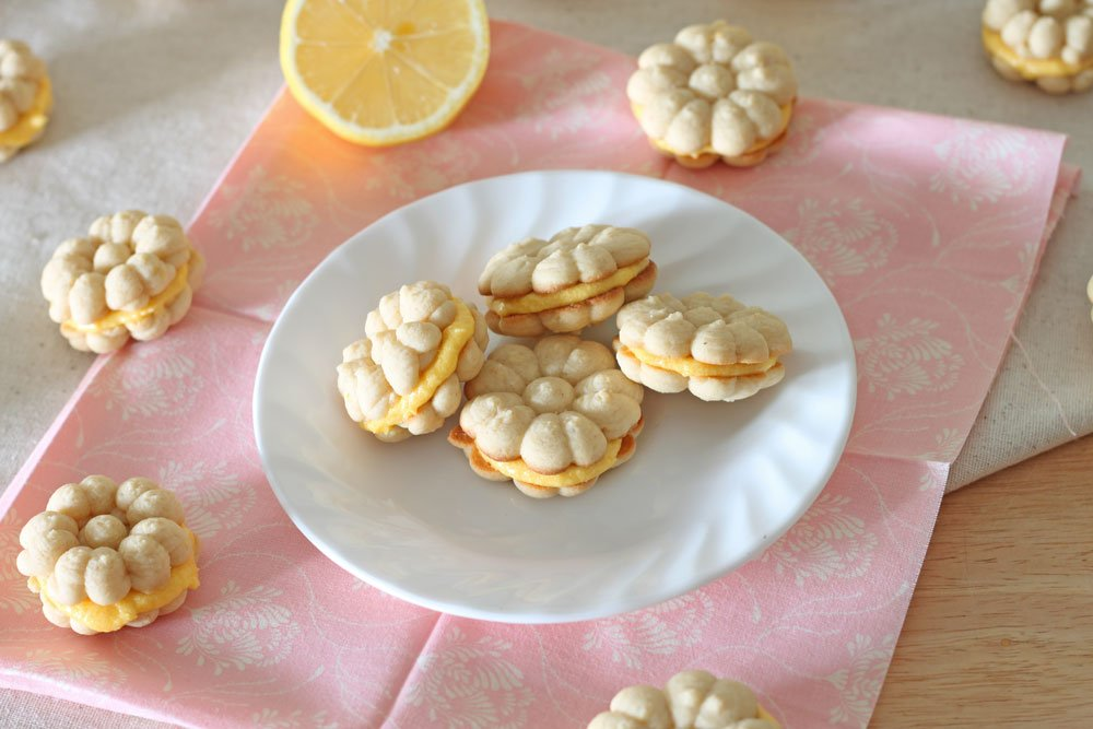 Lemon Sandwich Cookies 1