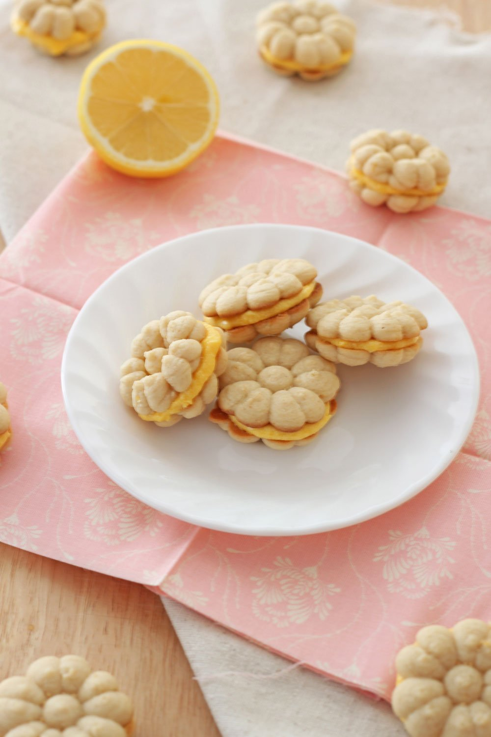 Lemon Sandwich Cookies | Recipe Runner