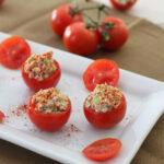 Salmon Salad Stuffed Tomatoes