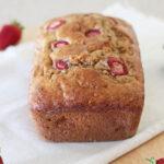 Whole Wheat Strawberry Banana Bread