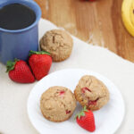 Strawberry Banana Muffins | www.reciperunner.com