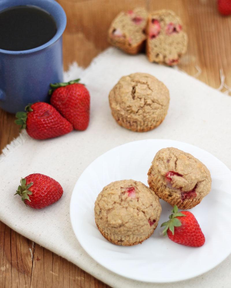 Strawberry Banana Muffins 1