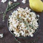 Lemon Thyme Popcorn | www.reciperunner.com