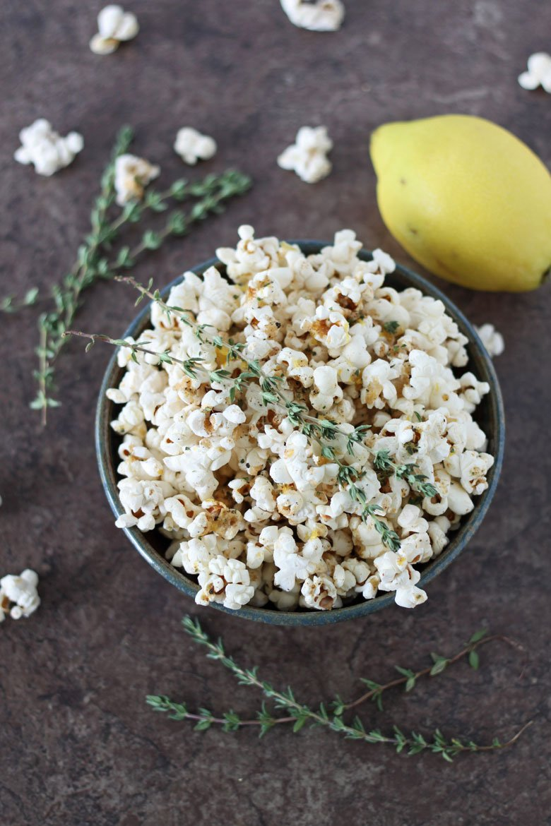 popcorn a try. Don't let the addition of the fresh herbs and lemon ...