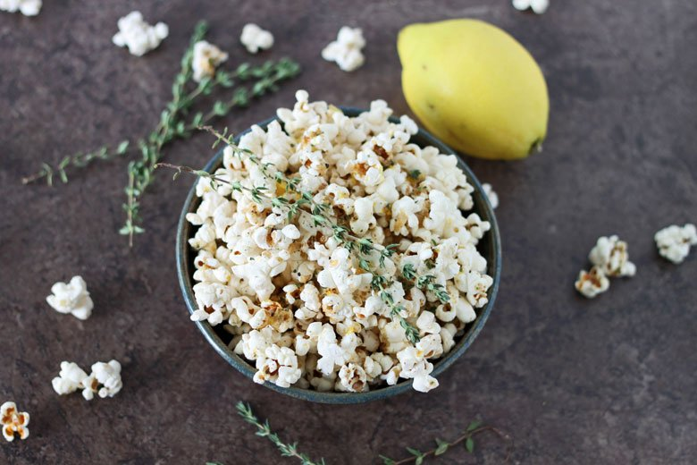 Herb & Lemon Buttered Popcorn Recipes — Dishmaps