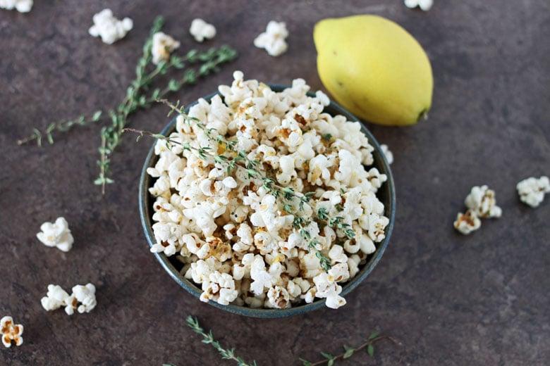 Lemon-Thyme-Popcorn
