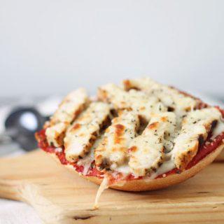 Chicken Ciabatta Roll Pizzas