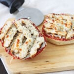 Chicken Ciabatta Roll Pizzas