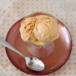 Pumpkin Butterscotch Frozen Yogurt