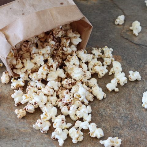 Browned Butter Sugar 'n Spice Popcorn