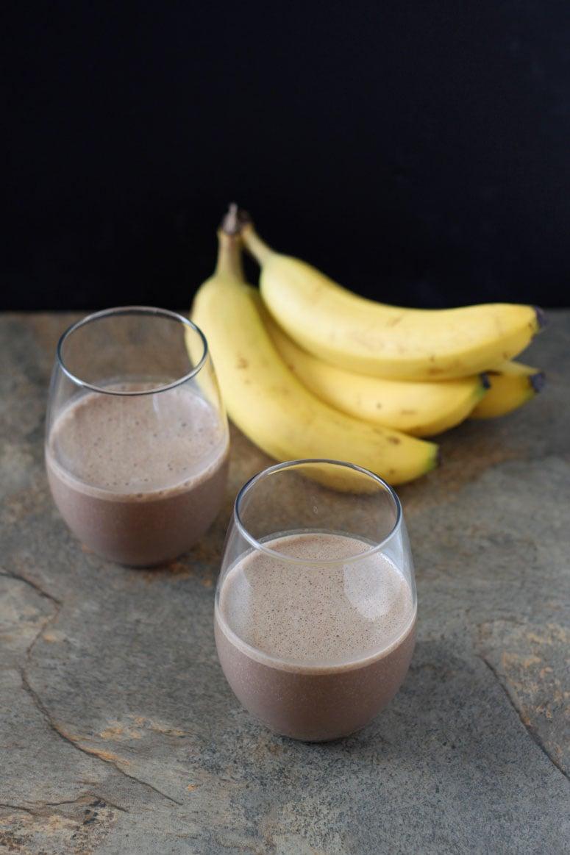 Chocolate Espresso Banana Smoothie