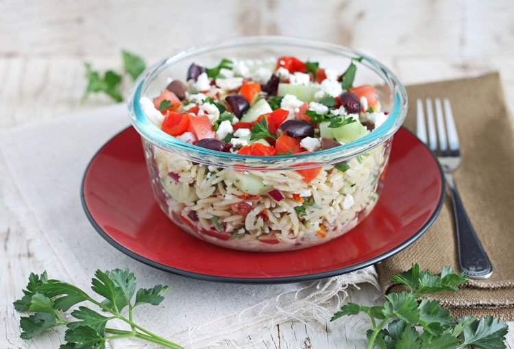 Greek Orzo Salad - Recipe Runner