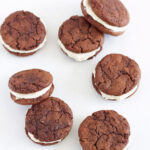 Fudgy Chocolate Kahlua Cookies with Baileys Buttercream | www.reciperunner.com