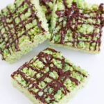 Pistachio Pudding Rice Krispie Treats