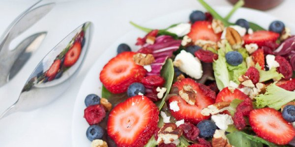 Berries and Feta Salad