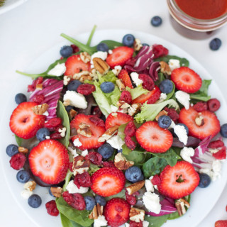 Berries and Feta Salad