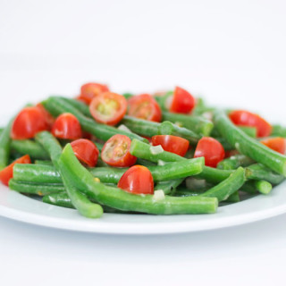 Green Bean & Tomato Salad with Lemon Dijon Vinaigrette