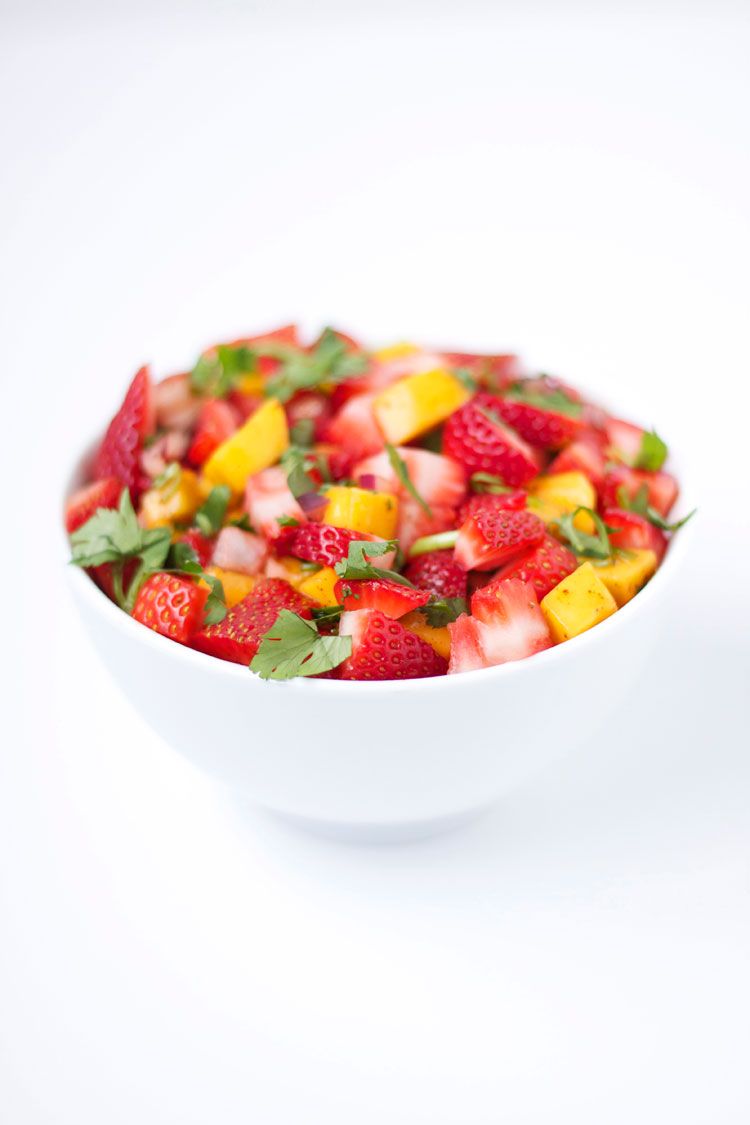 Strawberry Mango Salsa - Recipe Runner