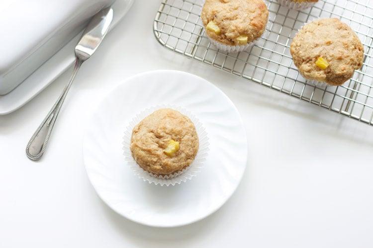 Hummingbird Muffins Stuffed with Cinnamon Cream Cheese   Made By Recipe Runner
