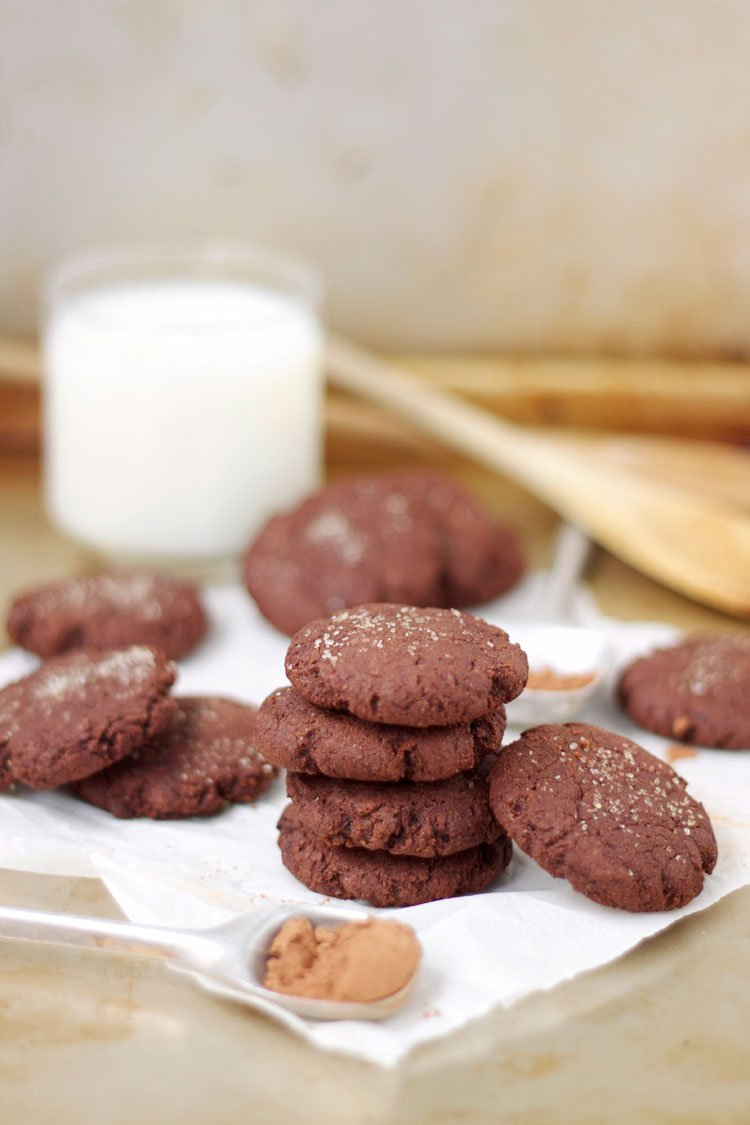 Mexican Chocolate Cookies | www.reciperunner.com