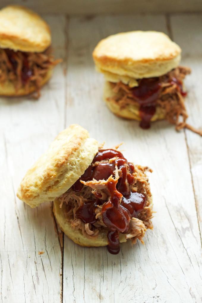 Pulled Pork Biscuit Sandwich | Recipe Runner