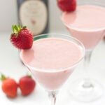 Roasted Strawberry Balsamic Smoothies