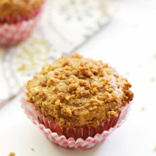 Banana Graham Cracker Muffins