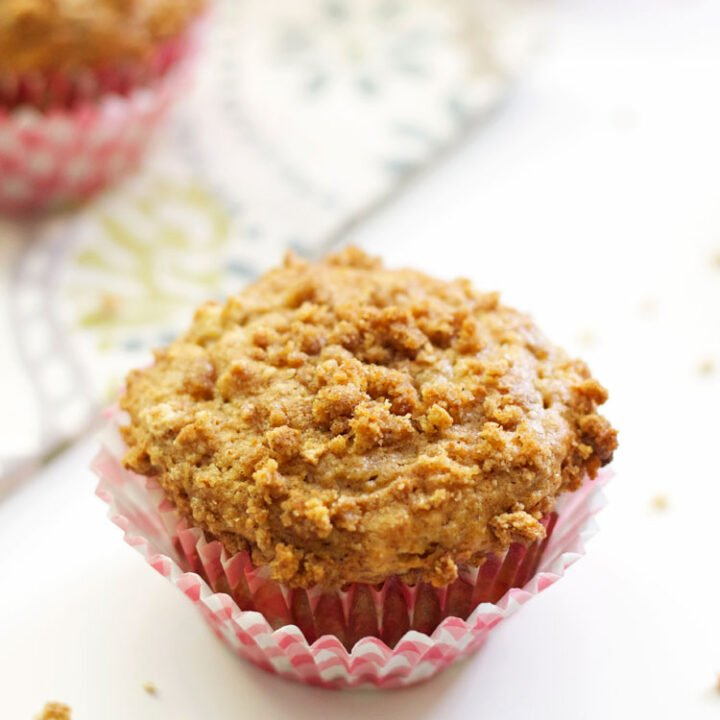 Banana Graham Cracker Muffins | Recipe Runner | Moist tender muffins full of bananas & graham crackers. These low fat muffins make a wonderful breakfast or snack!