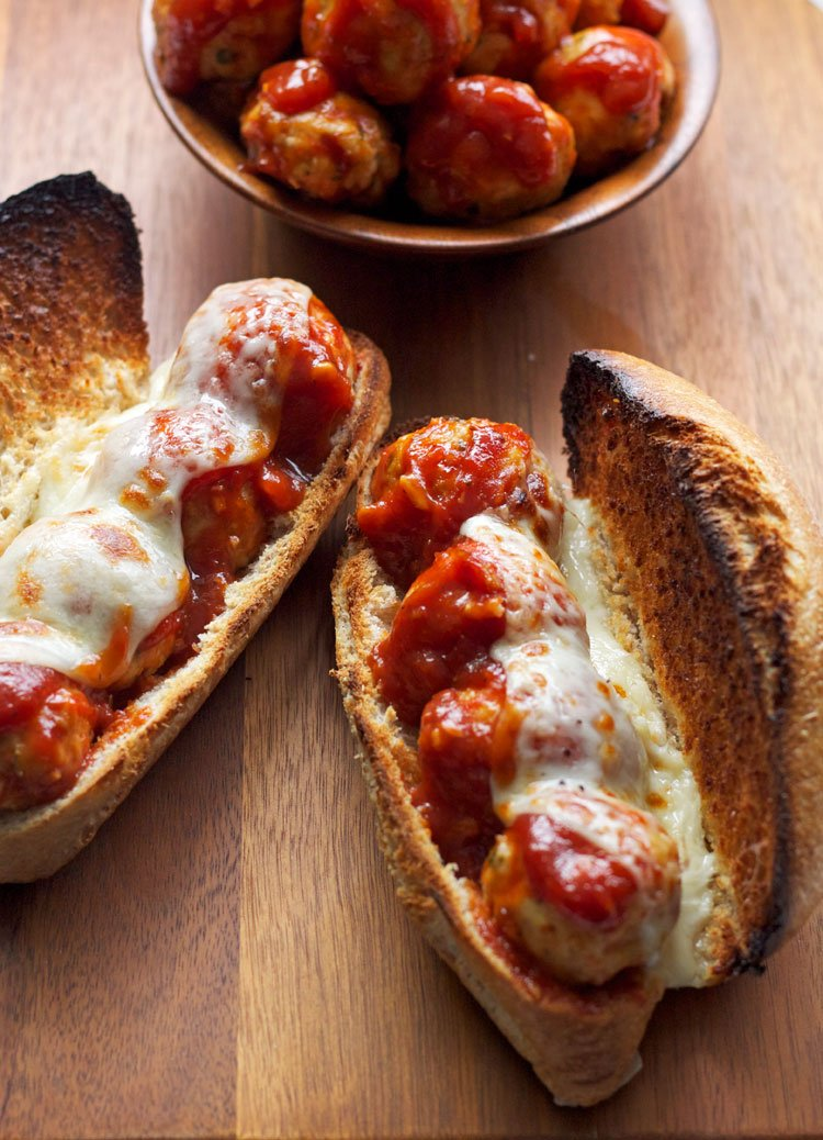 Barbecue Meatball Subs Recipe Runner