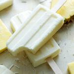 Coconut Pineapple Yogurt Pops