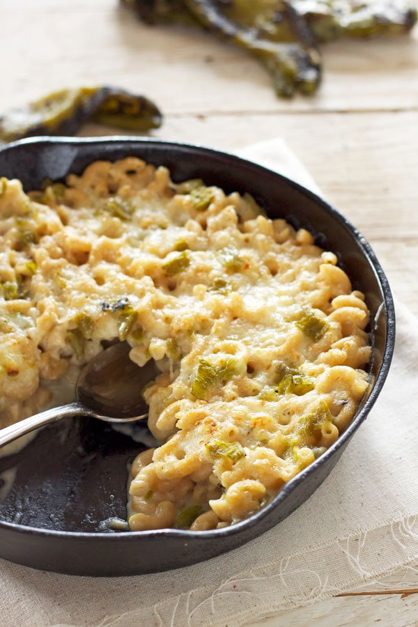 Green Chile Mac and Cheese | Recipe Runner | Roasted Hatch green ...