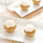 Mini Zucchini Cupcakes
