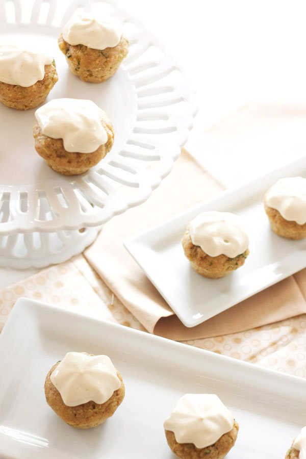 ... Zucchini Cupcakes with Honey Cream Cheese Frosting - Recipe Runner