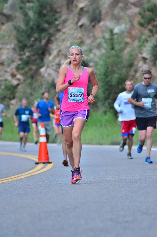 Revel Rockies Half Marathon | Recipe Runner | Recap of my race #running #halfmarathon #colorado