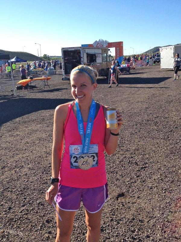 Revel Rockies Half Marathon | Recipe Runner | Race recap #running #revelrockies #halfmarathon #race